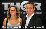 Karen Carroll and James Carroll